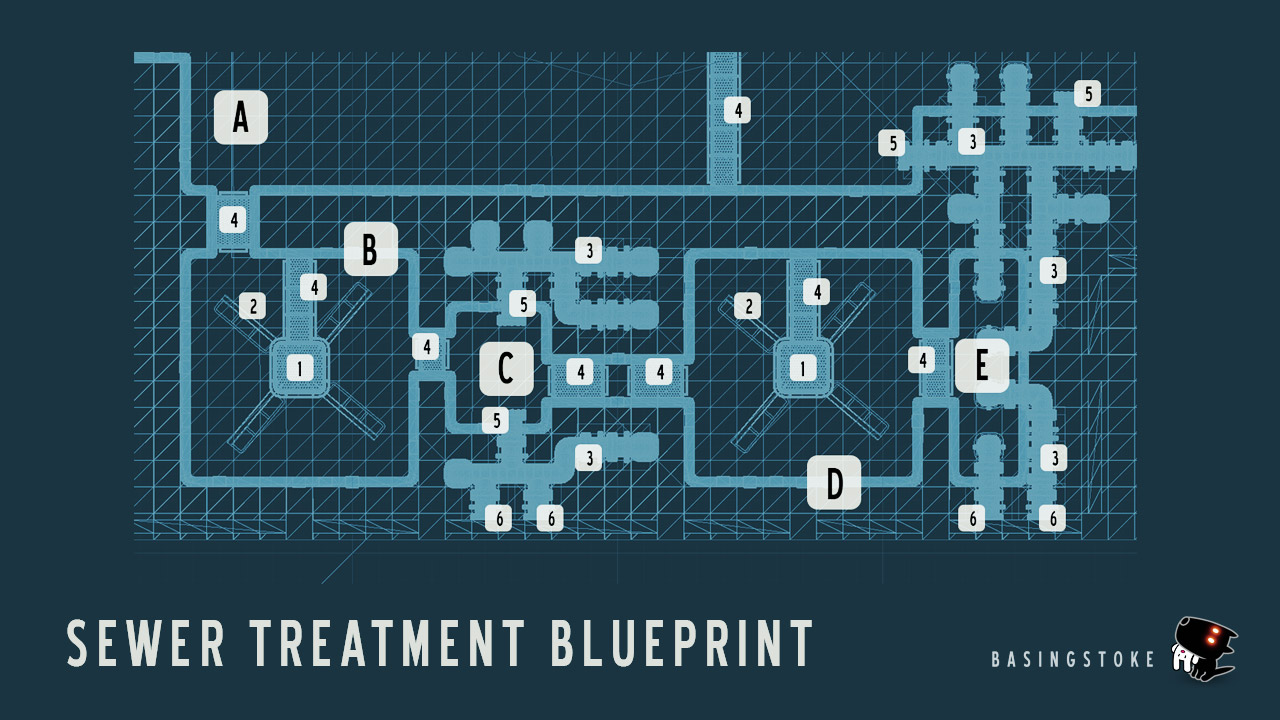 sewer-treatment-blueprint