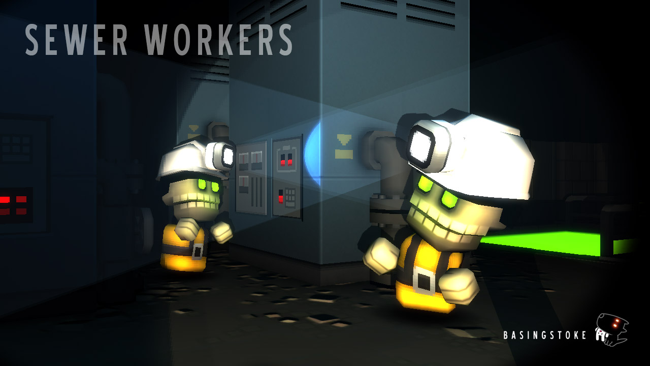 sewer-workers